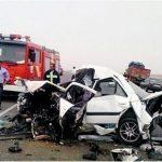 ۵۲ درصد کشتههای جادهای سرنشینان پراید و پژو هستند
