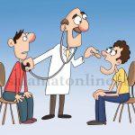 ویزیت همزمان چند بیمار در مطب، تخلف انتظامی است